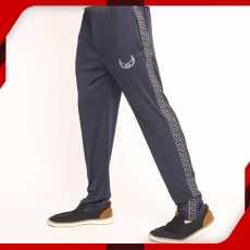 WINGS Stripe Blue Trouser for Men