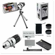Optical Zoom 12X Mobile Phone Telescope Lens HD Telescope Camera Lens With Clip
