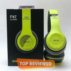 Fordable Wireless Bluetooth P47 Stereo Headphone Headset with Button Control...