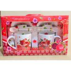 Double Tea Mug & Tea Cup & Gift & Coffee Mug