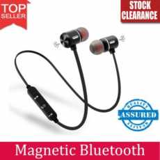 Exclusive Magnetic Bluetooth Headphone with Noise Isolation Hands-Free Mic...