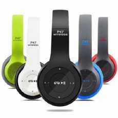 P47 Wireless Bluetooth Headphones Latest 4.2+EDR with Mic Stereo Headset...