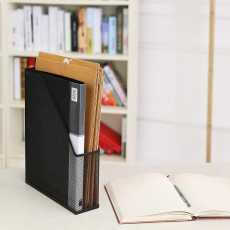 File Folder Organizer for Office- MetalDocument Letter Holder- Newspaper...