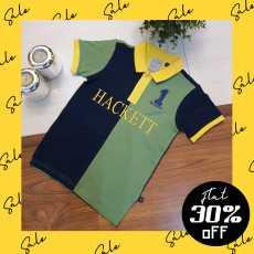 HCKT-1 Green Classic Kids Polo Shirt