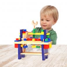 Wooden Tool Setfor Kids- Wooden Construction Game Set- Toys for Kids