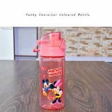 School Water Bottles for Kids- Acrylic Glass Water Bottles for Girls- Mickey...