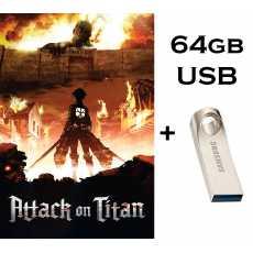 Attack On Titan - All Season 1-4 Complete TV Series in HD - Dual Audio in...