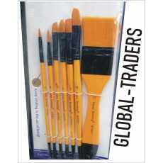 Artist Brushes:-7 multi tip artist brushes paint brushes for painting artist...
