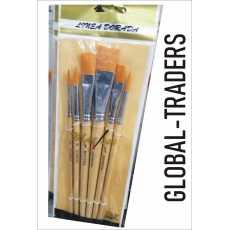 Artist Brushes:-6 multi tip artist brushes paint brushes for painting artist...