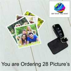 Custom Polaroid Pictures Print Personalize Photos Gifts Photo Frame Albums -...