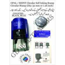 OPAL Customized Circular Self Inking Stamp Circular Stamp