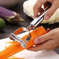 Stainless Steel julienne peeler and vegetable peeler