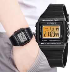 Mughaliya SYNOKE Men Sports Count Down Waterproof Watch Fashion Digital...