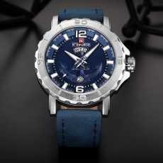 Mughaliya NAVIFORCE NF9122 Top Luxury Brand Mens Sport Watches Leather Strap...