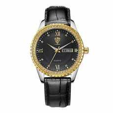Mughaliya LIEBIG L1001 Quartz Watch Men Women Couple Watches Luxury Diamond...
