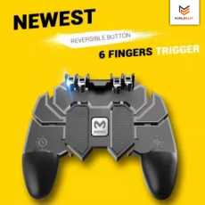 AK66 MOBILE GAME CONTROLLER TRIGGER SIX FINGER ALL-IN-ONE JOYSTICK GAMEPAD...