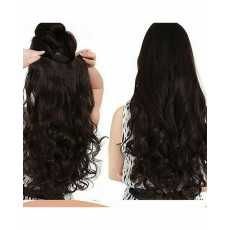 Synthetic Hair Extension for Women With 5 Clips Strongly Attached No Hair...