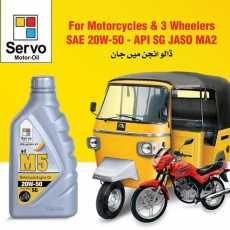 Servo M5 ( Motorcycle Engine Oil) 20W-50
