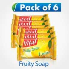 Vital Fruity Lemon Soap 140GM