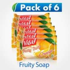 Vital Fruity Orange Soap 140GM
