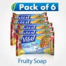 Vital Fruity Tropical Soap 140GM