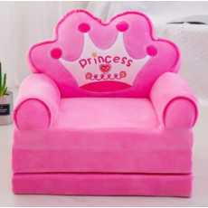 Children's 2 In 1 Flip Open Foam Sofa, boys Girls Children's Chair Toddler...