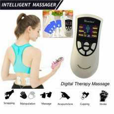 Body Massager Pain Relief Acupuncture Digital Therapy Massage Machine Full...