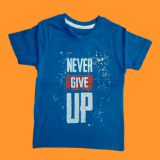 Never Give up 2-3 years kids T-shirt