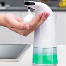Touchless Foaming Soap dispenser with Sensor- 250ml Auto Foaming Hand Washer...