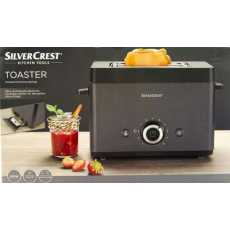 Electric Toaster Silver Crest Grill pan