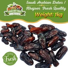 Saudi Arabian Dates / Khajoor 1000gm-1kg Fresh Quality