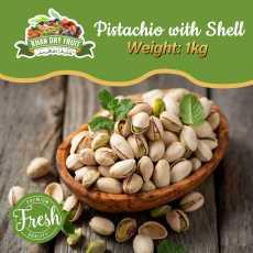 Pista (Pistachio) - With Salt - 1kg