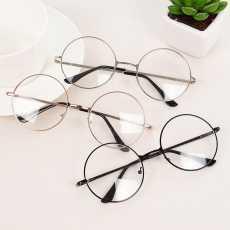 Golden Round Harry potter Style Glasses For Girls