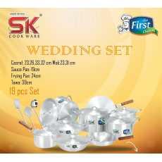 Sk Cookware Wedding set 19 PCS