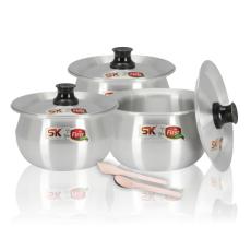 Sk Spring Cookware Pateeli/ Kettle 8 PCS