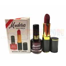 Medora Nail Polish & Lipstick Combo Pack Matte Color
