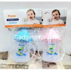 Baby Training Cup Kids Sippy Bottle POTATO Brand 6 Oz, 180ML