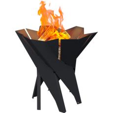 Black Basket Garden Fire Pits 55x50 Kratki