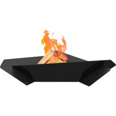Black TRIANGLE Garden Fire Pits Kratki