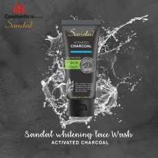 Sandal Whitening Facewash With Activated Charcoal