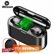 Wiresto True Wireless Earbuds Mini Earphone Headphone TWS Wireless Bluetooth...