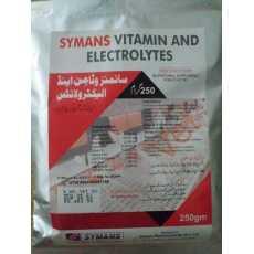 SYMANS VTAMINS AND ELECTROLYTES 250gm
