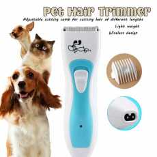 Pets like 5 in 1 1200mAh Rechargeable Pet Electric Hair Clipper Low Noise Dog...