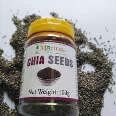 iMoringa Organic Premium Quality Original Chia Seeds (100g) For Weight Loss