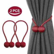 Magnetic Curtain Holder (1Pair)