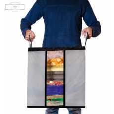 Portable Bamboo Charcoal Clothes Blanket Large Folding Bag Storage Box...