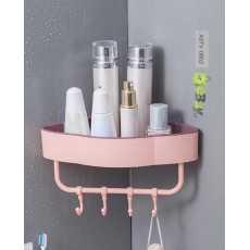 Self-Adhesive Wall Corner Shelf, Bathroom Corner, Bathroom Rack,  Single...