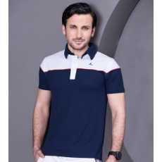 Contrast Pique Polo Shirt