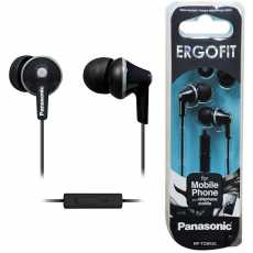 PANASONIC ErgoFit Earbud Headphones with Microphone and Call Controller...