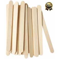 Pack of 50 Small Craft Sticks Ice Cream Sticks Wooden Popsicle Sticks (Length...